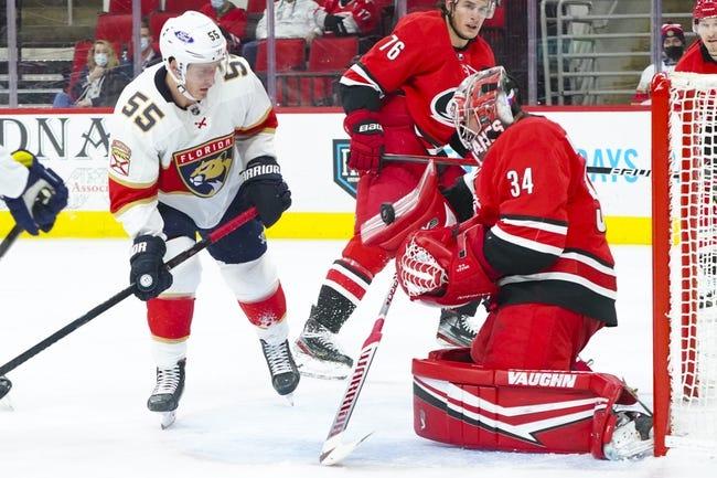 Carolina Hurricanes vs Florida Panthers NHL Picks, Odds, Predictions 4/8/21