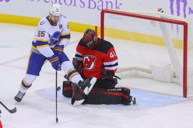 Buffalo Sabres vs New Jersey Devils NHL Picks, Odds, Predictions 4/8/21