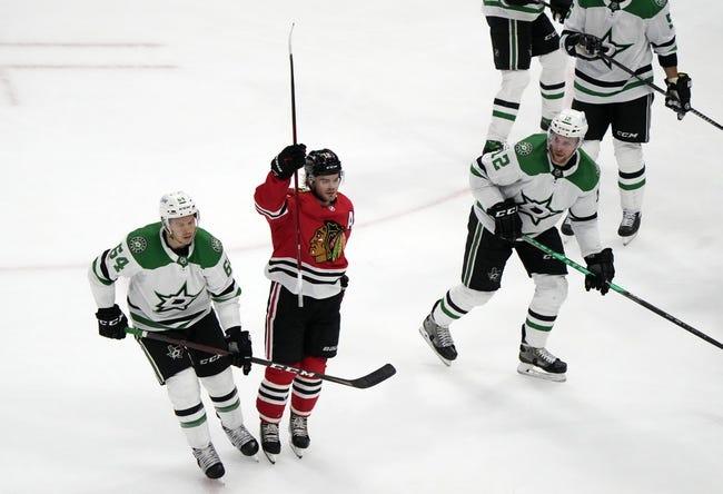 Dallas Stars at Chicago Blackhawks - 4/8/21 NHL Picks and Prediction
