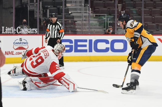 Detroit Red Wings vs Nashville Predators NHL Picks, Odds, Predictions 4/8/21