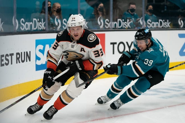 San Jose Sharks vs Anaheim Ducks NHL Picks, Odds, Predictions 4/12/21