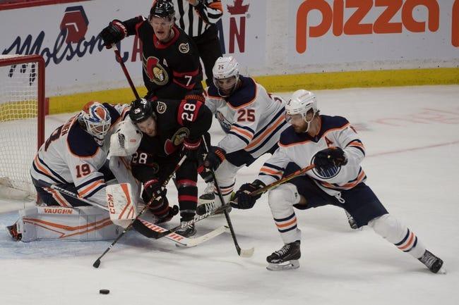 Ottawa Senators vs Edmonton Oilers NHL Picks, Odds, Predictions 4/8/21