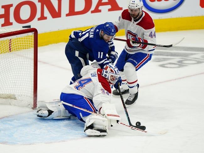 Montreal Canadiens vs Toronto Maple Leafs NHL Picks, Odds, Predictions 4/12/21