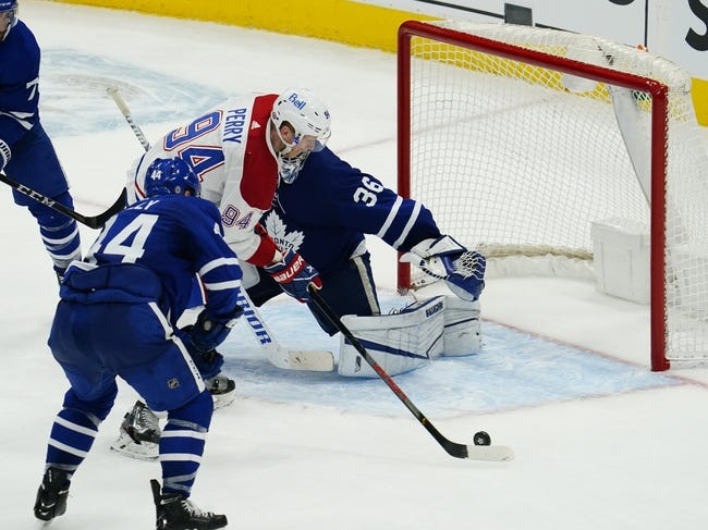 Toronto Maple Leafs at Montreal Canadiens - 4/12/21 NHL Picks and Prediction