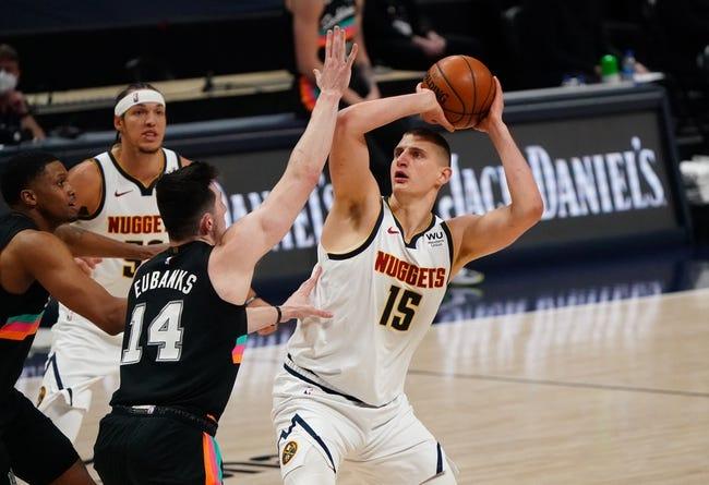 Denver Nuggets vs San Antonio Spurs NBA Picks, Odds, Predictions 4/9/21