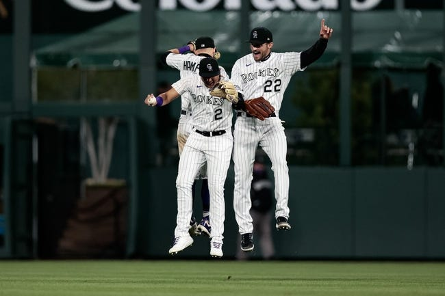 Arizona Diamondbacks at Colorado Rockies - 4/8/21 MLB Picks and Prediction