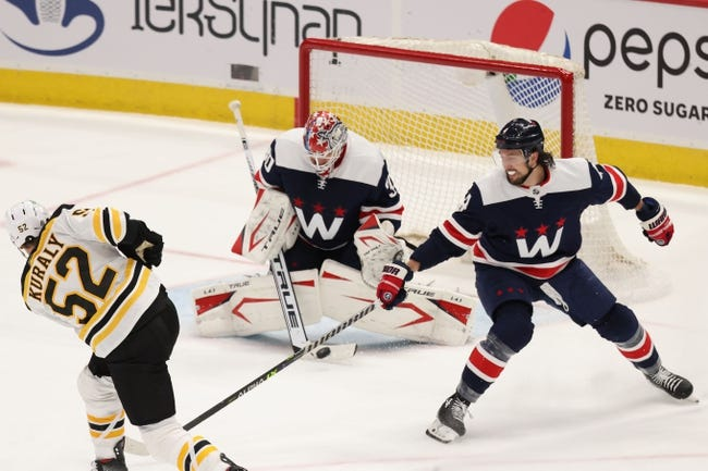 Washington Capitals at Boston Bruins - 4/11/21 NHL Picks and Prediction