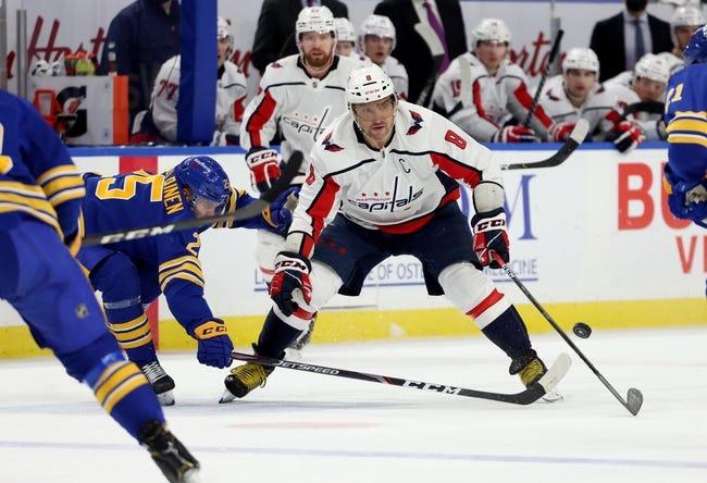 Buffalo Sabres at Washington Capitals - 4/15/21 NHL Picks and Prediction