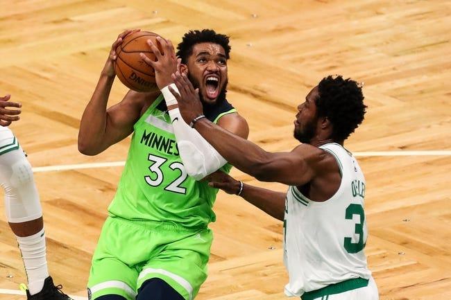 Brooklyn Nets at Minnesota Timberwolves - 4/13/21 NBA Picks and Prediction