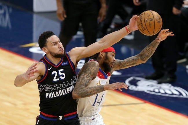 Brooklyn Nets at Philadelphia 76ers - 4/14/21 NBA Picks and Prediction