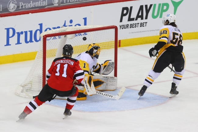 Pittsburgh Penguins at New Jersey Devils - 4/11/21 NHL Picks and Prediction