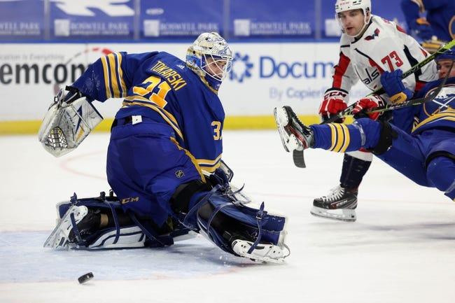 Washington Capitals vs Buffalo Sabres NHL Picks, Odds, Predictions 4/15/21