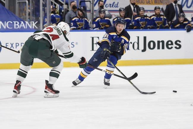 St. Louis Blues vs Minnesota Wild NHL Picks, Odds, Predictions 4/10/21