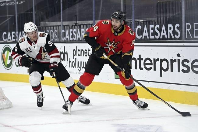 Arizona Coyotes at Vegas Golden Knights - 4/11/21 NHL Picks and Prediction