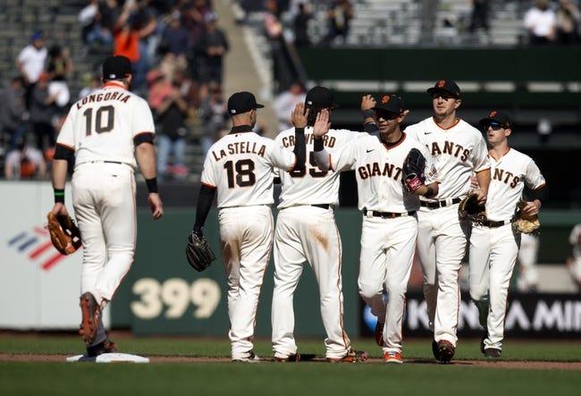 Colorado Rockies at San Francisco Giants - 4/11/21 MLB Picks and Prediction
