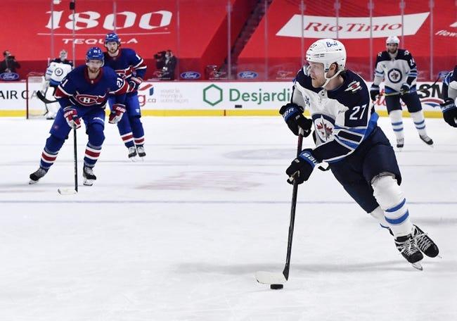 Montreal Canadiens vs Winnipeg Jets NHL Picks, Odds, Predictions 4/30/21