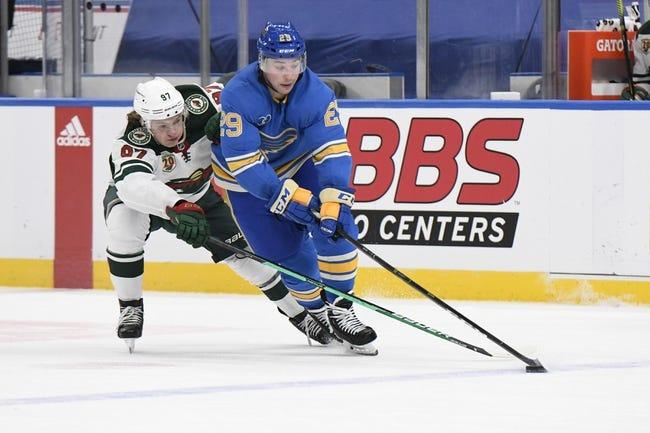 Minnesota Wild vs St. Louis Blues NHL Picks, Odds, Predictions 4/28/21