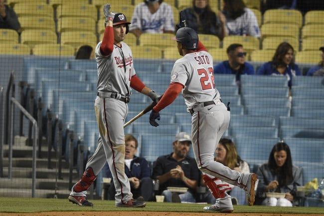 Washington Nationals at Los Angeles Dodgers - 4/11/21 MLB Picks and Prediction