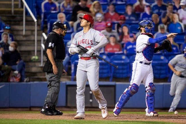 Toronto Blue Jays vs Los Angeles Angels MLB Picks, Odds, Predictions 4/11/21