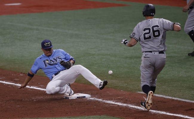 Texas Rangers at Tampa Bay Rays 4/12/21 MLB Picks and Predictions