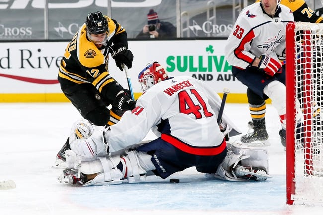 Boston Bruins vs Washington Capitals NHL Picks, Odds, Predictions 4/18/21