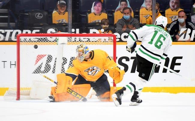 Nashville Predators vs Dallas Stars NHL Picks, Odds, Predictions 5/1/21
