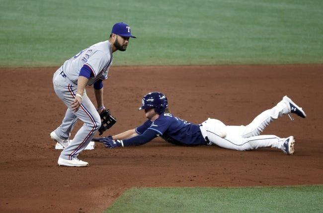 Texas Rangers at Tampa Bay Rays - 4/13/21 MLB Picks and Prediction