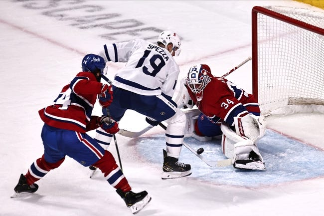 Montreal Canadiens vs Toronto Maple Leafs NHL Picks, Odds, Predictions 4/28/21