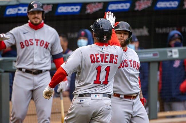 Boston Red Sox at Minnesota Twins Game 1 - 4/14/21 MLB Picks and Prediction
