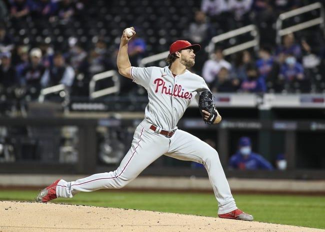 Philadelphia Phillies at Colorado Rockies - 4/24/21 MLB Picks and Prediction