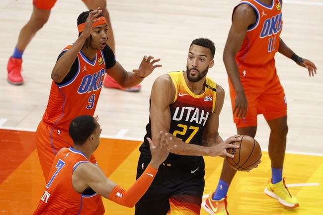 Utah Jazz at Houston Rockets - 4/21/21 NBA Picks and Prediction