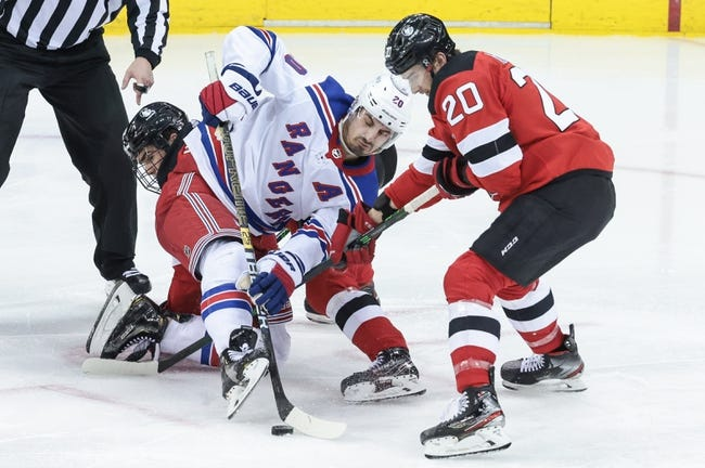New Jersey Devils at New York Rangers - 4/15/21 NHL Picks and Prediction