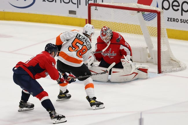 Washington Capitals at Philadelphia Flyers - 4/17/21 NHL Picks and Prediction