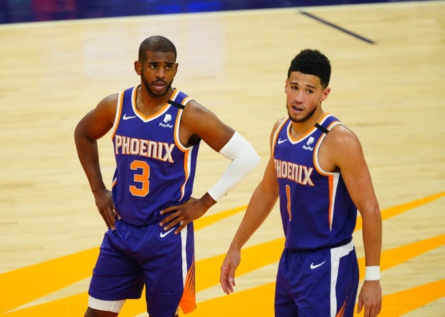 Phoenix Suns at Brooklyn Nets - 4/25/21 NBA Picks and Prediction