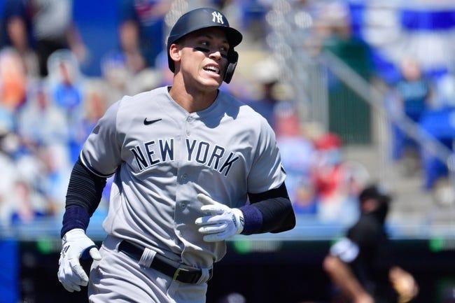 Tampa Bay Rays at New York Yankees - 4/16/21 MLB Picks and Prediction