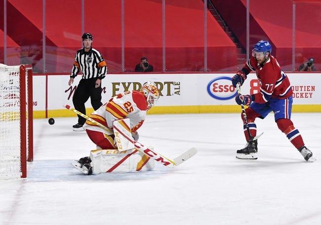Calgary Flames at Montreal Canadiens - 4/16/21 NHL Picks and Prediction