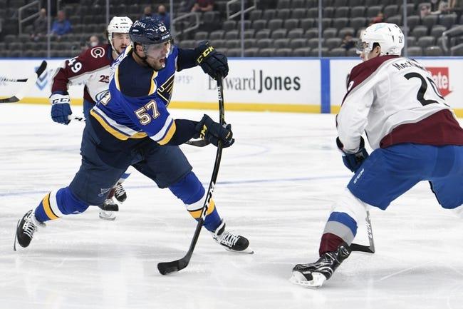 St. Louis Blues vs Colorado Avalanche NHL Picks, Odds, Predictions 4/22/21
