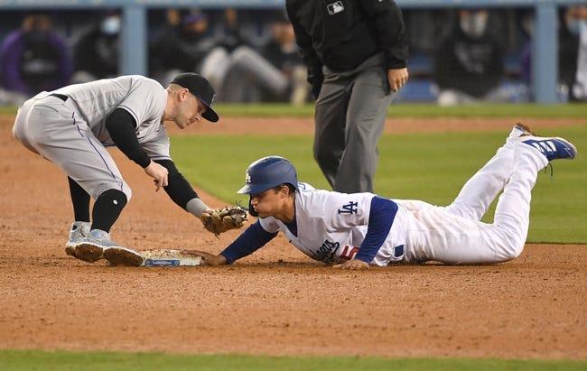 Los Angeles Dodgers vs Colorado Rockies MLB Picks, Odds, Predictions 4/15/21