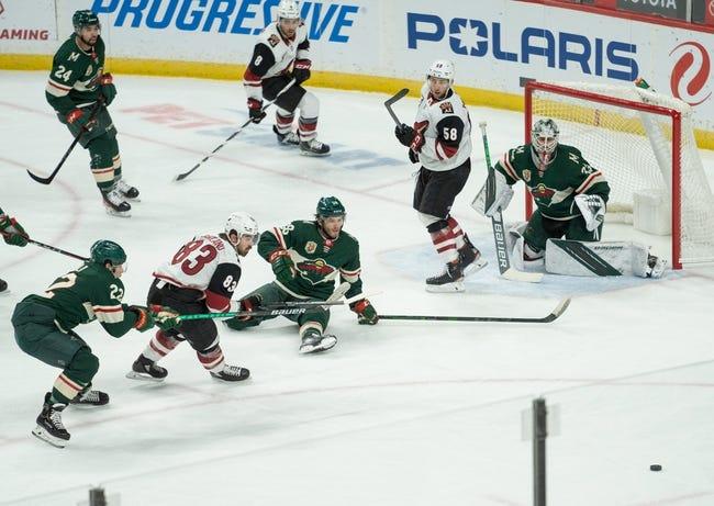 Arizona Coyotes vs Minnesota Wild NHL Picks, Odds, Predictions 4/19/21