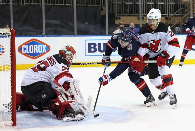 New Jersey Devils at New York Rangers - 4/17/21 NHL Picks and Prediction