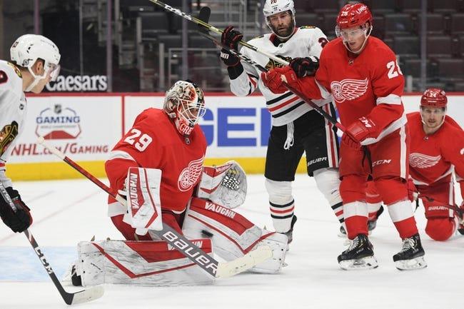 Detroit Red Wings vs Chicago Blackhawks NHL Picks, Odds, Predictions 4/17/21