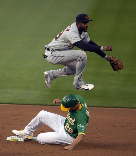Detroit Tigers at Oakland Athletics - 4/18/21 MLB Picks and Prediction
