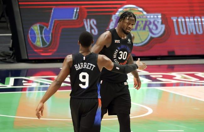 New Orleans Pelicans at New York Knicks - 4/18/21 NBA Picks and Prediction