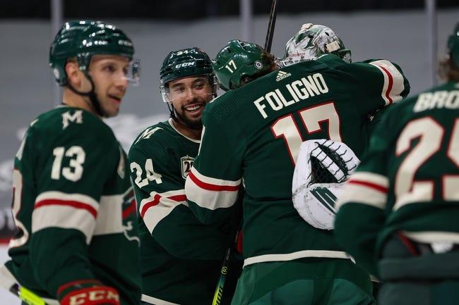Minnesota Wild vs San Jose Sharks NHL Picks, Odds, Predictions 4/17/21