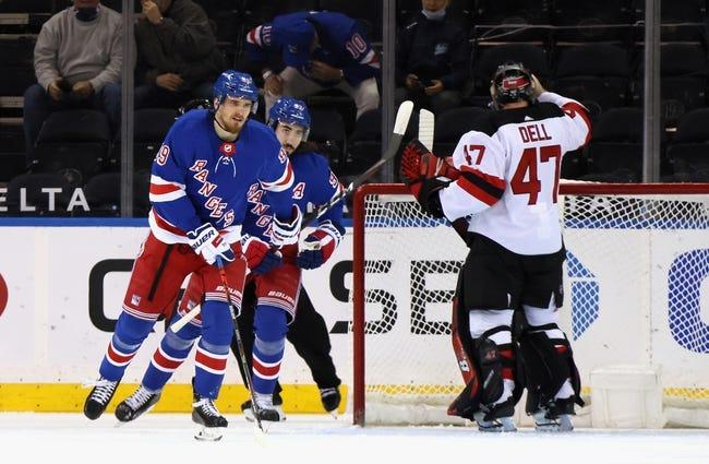 New Jersey Devils vs New York Rangers NHL Picks, Odds, Predictions 4/18/21