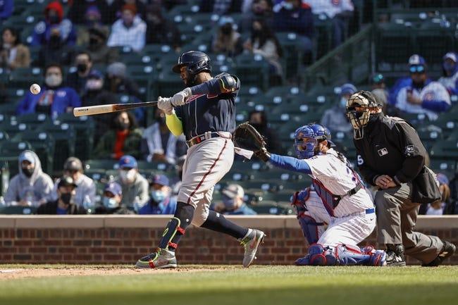 Atlanta Braves at Chicago Cubs - 4/18/21 MLB Picks and Prediction