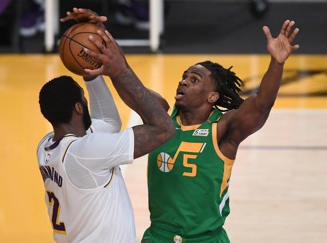 Utah Jazz at Los Angeles Lakers - 4/19/21 NBA Picks and Prediction