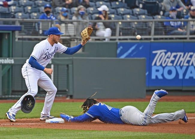 Toronto Blue Jays at Kansas City Royals - 4/18/21 MLB Picks and Prediction