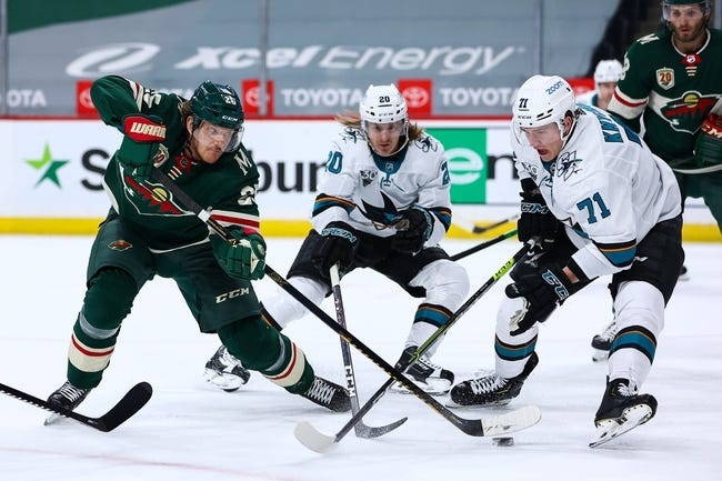 Minnesota Wild at San Jose Sharks - 4/24/21 NHL Picks and Prediction