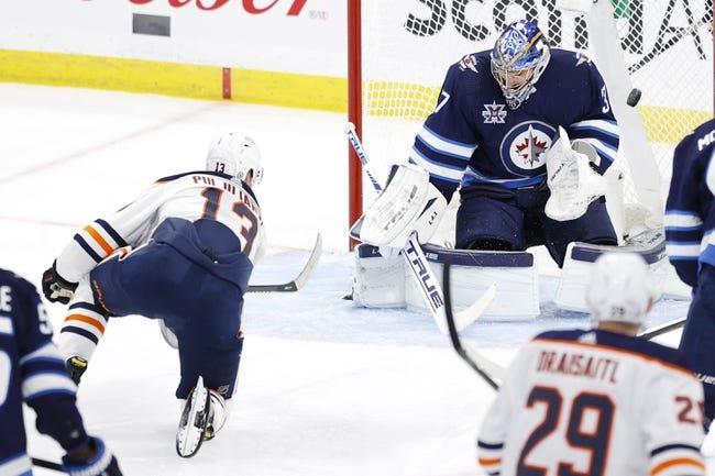 Winnipeg Jets vs Edmonton Oilers NHL Picks, Odds, Predictions 4/26/21